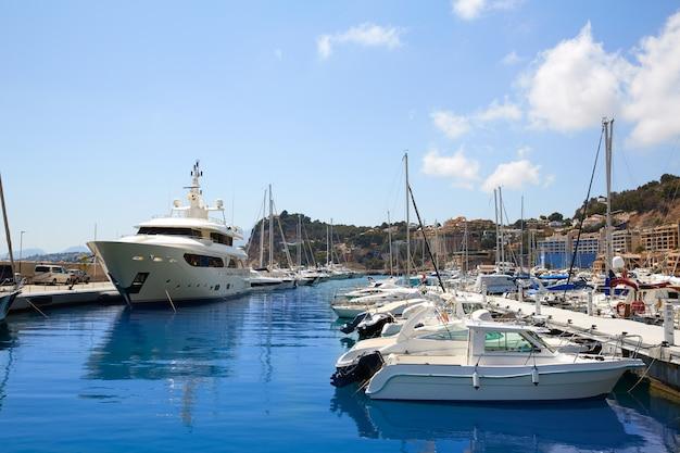 Altea bateaux marina greenwich port alicante Photo Premium
