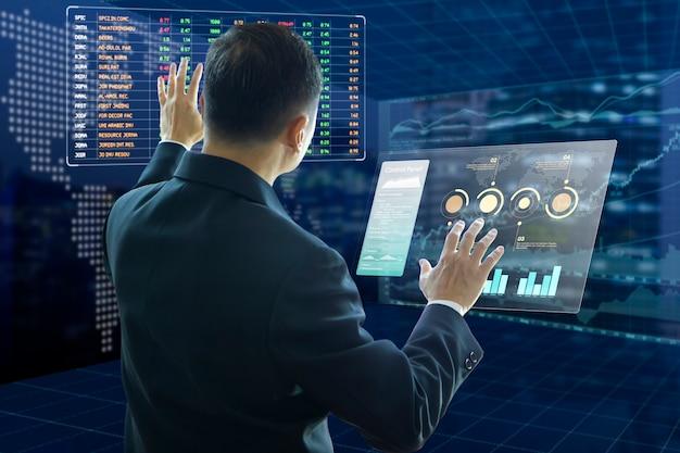 Analyse du risque d'investissement des entreprises Photo Premium