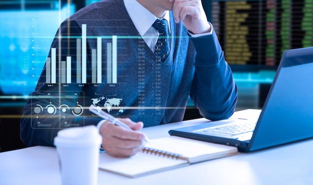 Analyse de la performance des entreprises Photo Premium