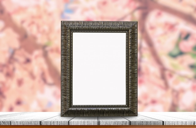 Ancien cadre photo Photo Premium