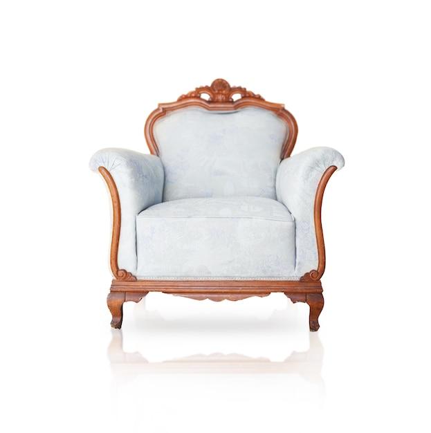 Ancien fauteuil en bois Photo gratuit