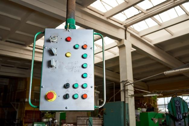 Ancien Panneau De Commande De La Machine Photo Premium