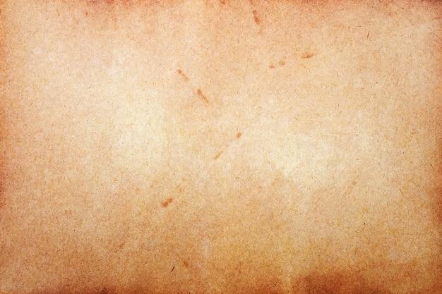 Ancienne Surface De Papier Brun. Texture Grunge Abstraite. Photo Premium