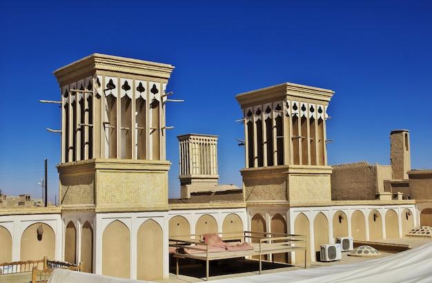 Ancienne ville yazd en iran Photo Premium