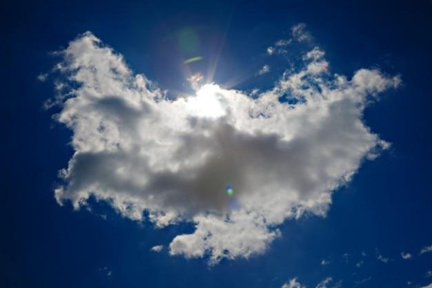 Ange nuage hdr Photo gratuit