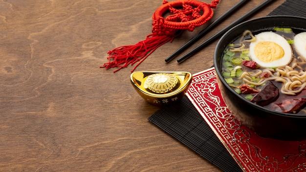 Angle Du Nouvel An Chinois Photo gratuit