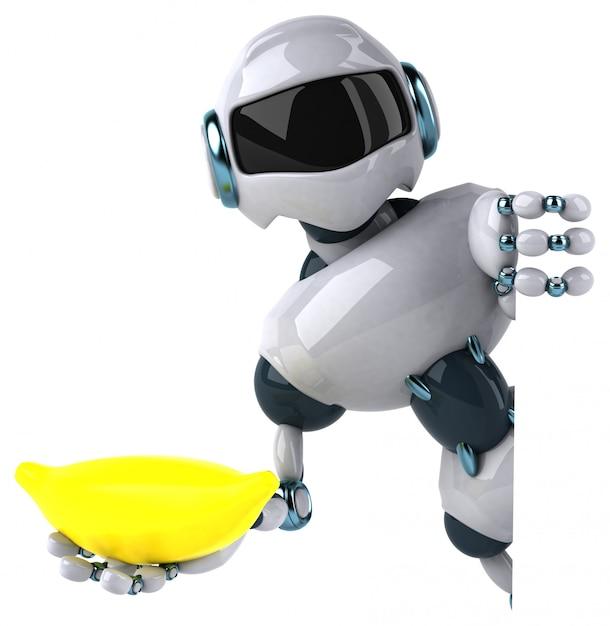 Animation De Robot Photo Premium