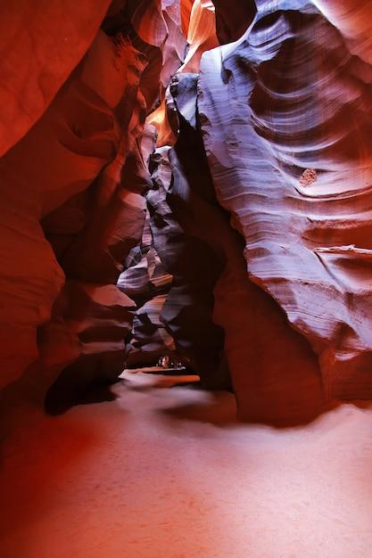 Antelope Canyon En Arizona, états-unis Photo Premium