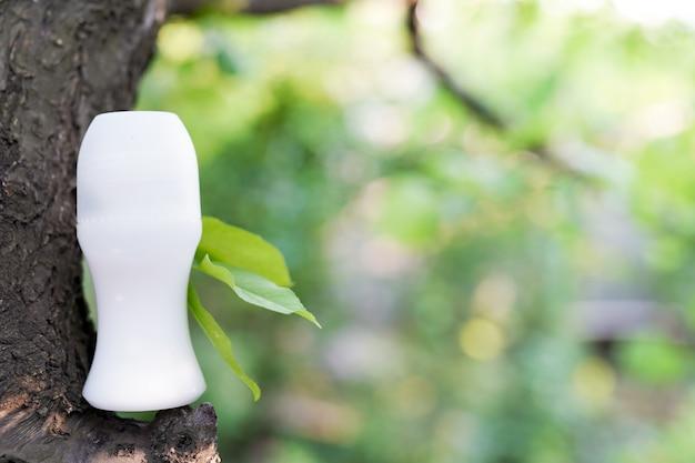 Antiperspirant, soin de la peau bio fraîcheur Photo Premium
