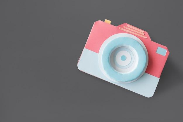 Appareil photo objectif obturateur photographie studio Photo Premium