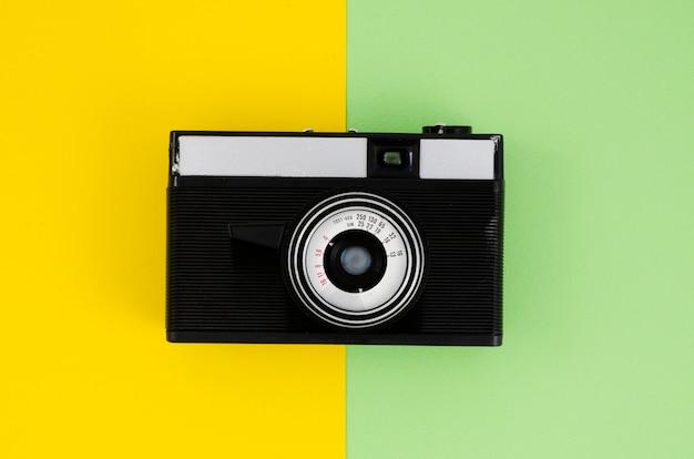 Appareil Photo Professionnel Vue De Dessus Photo gratuit