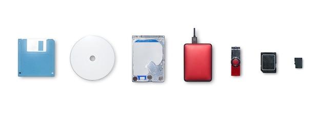 Les appareils utilisent pour les informations de stockage et de transfert ou de sauvegarde des données pour les Photo Premium