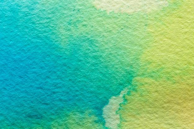 Aquarelle Abstraite Fond Vert Clair Et Foncé Photo gratuit