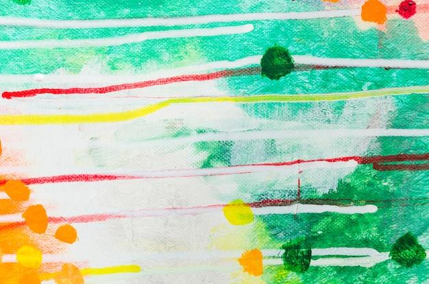 Aquarelle abstraite vue de dessus Photo gratuit