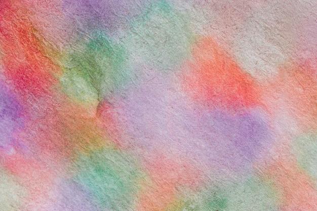 Aquarelle technique flou de mouvement coloré à la main Photo gratuit