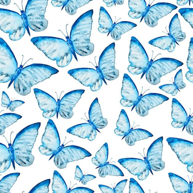 Aquarelle transparente motif de pile Photo Premium