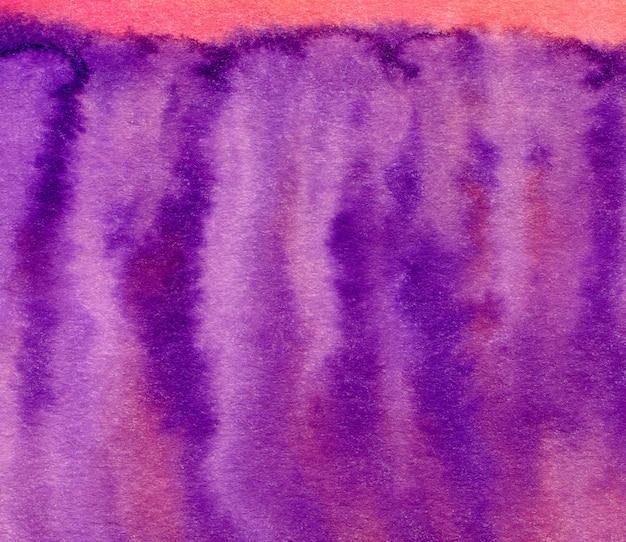 Aquarelle violet peint l'arrière-plan. abstrait fond clair Photo Premium