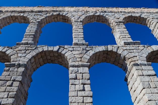 Aqueduc De Ségovie, Espagne Photo Premium