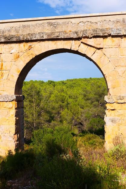 Arc De L'aqueduc Romain Antique Photo gratuit