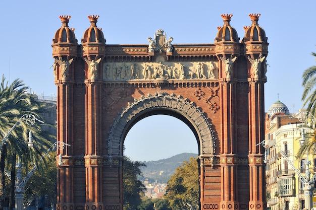 Arc De Triomf, Barcelone Photo Premium