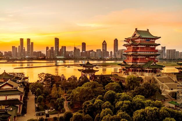 Architecture classique chinoise Photo Premium