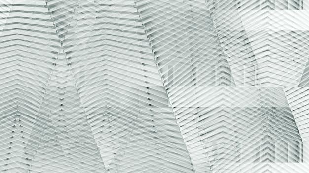 Architecture moderne abstraite d'un modèle de mur en acier. Photo Premium