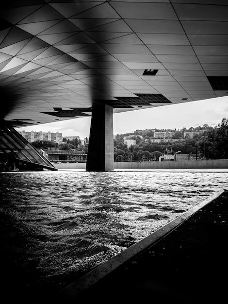 Architecture Moderne Avec Piscine Photo gratuit