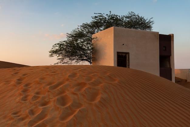 Architecture Nomade Dans Le Désert Photo gratuit