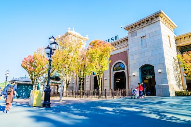 L'architecture et les touristes non identifiés Photo gratuit