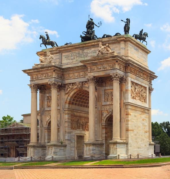Arco della pace, milan Photo Premium