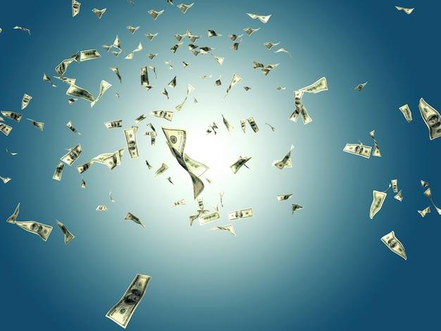 L'argent dans le ciel Photo Premium