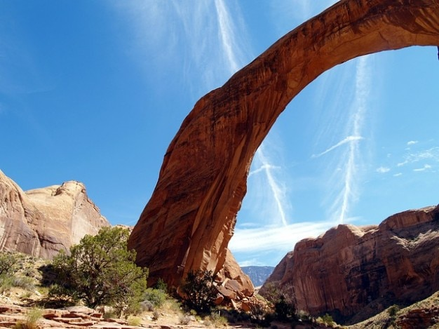 Arizona Usa Powell Rainbow Bridge Lac Photo gratuit