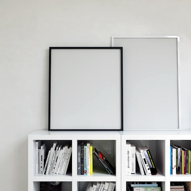 Armoire intégrale avec des livres Photo Premium