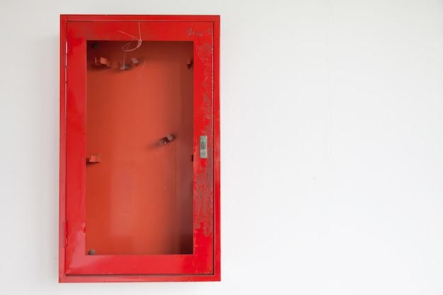 Armoires pour extincteurs. Photo Premium
