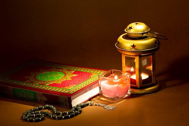 Arrangement du nouvel an islamique Photo gratuit