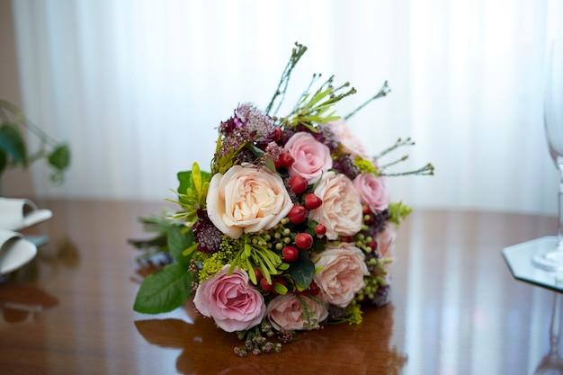 Arrangement Floral Photo Premium