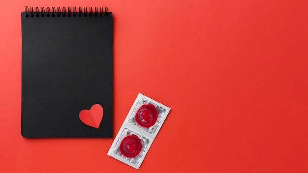 Arrangement De Méthode De Contraception Avec Espace De Copie Photo gratuit