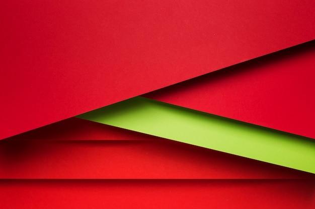 Arrangement De Vue De Dessus Des Feuilles De Papier Colorées Photo gratuit