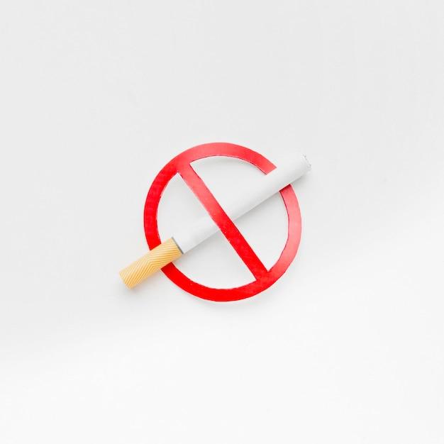 Arrêter De Fumer Signe Photo Premium