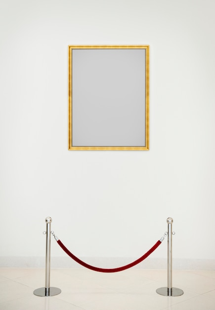 Art gallery antique frame concept Photo Premium