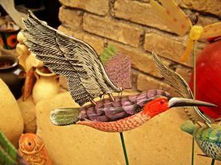Artisanat mexicain, un gecko Photo gratuit