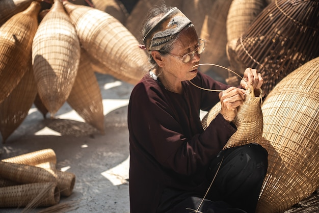 Artisanat vietnamien Photo Premium