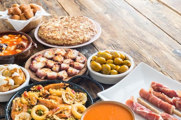 Assiettes Espagnoles Photo Premium