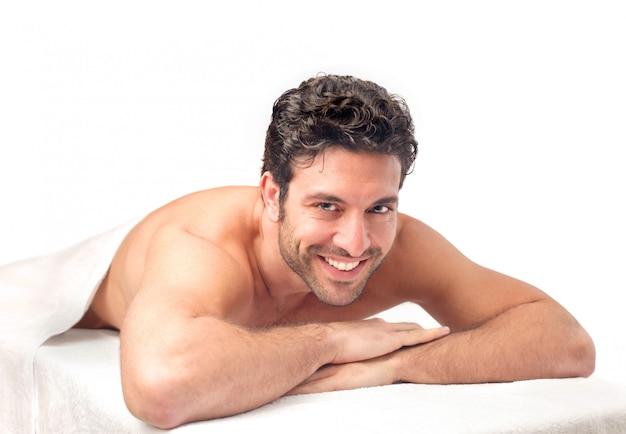 En Attente D'un Bon Massage Photo Premium