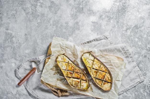 Aubergines au four Photo Premium