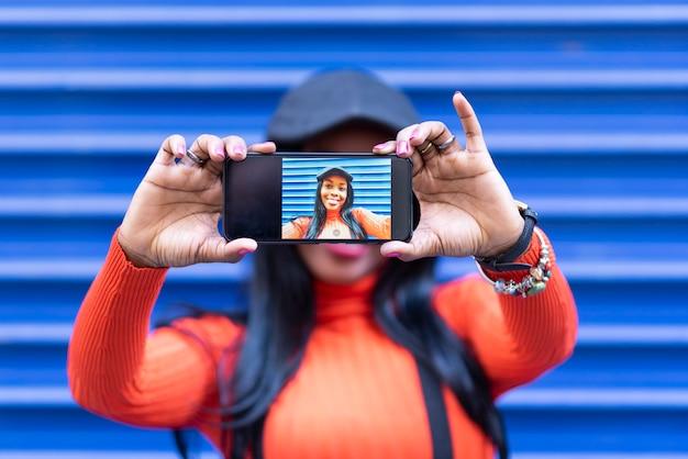 Auto-photographier la beauté Photo Premium