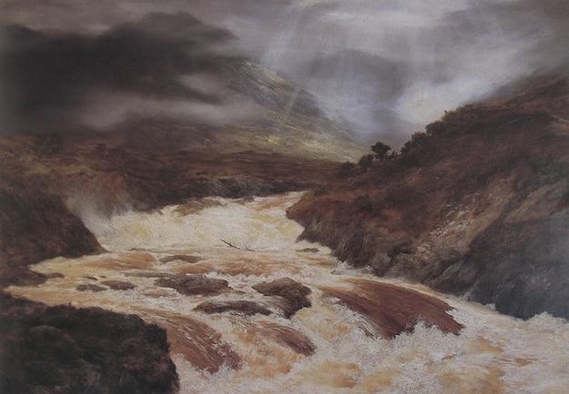 Avalanche art graham peinture artistique artistique Photo gratuit