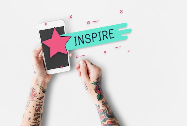 Awesome free passion soulful inspire graphics Photo gratuit