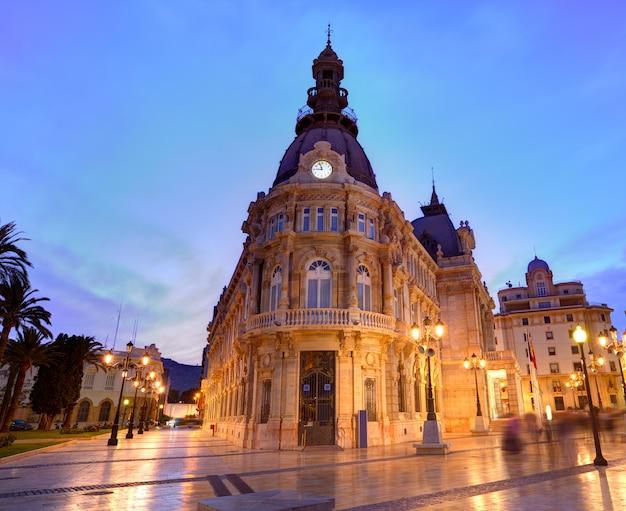 Ayuntamiento de cartagena mairie de murcie espagne Photo Premium