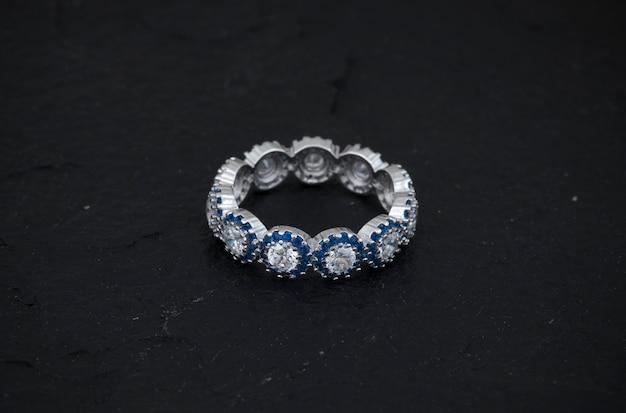 Bague de diamant Photo Premium